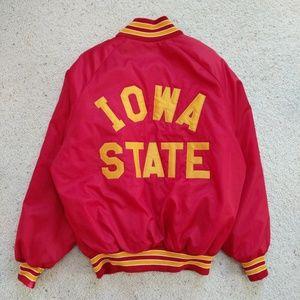 Vintage Iowa State Varsity Bomber Jacket L